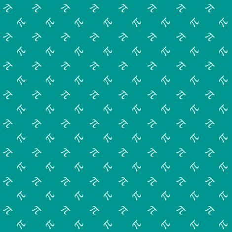 Hang 3.14159 - Surfing Pi fabric by weavingmajor on Spoonflower - custom fabric