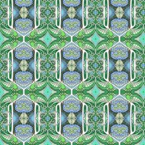 Hydrangea Hexagon Float
