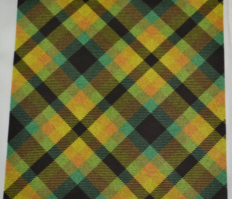 Autumn Woodland Plaid