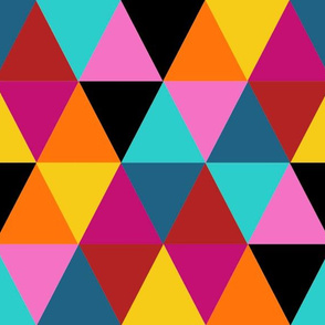 Triangle Cheater Quilt