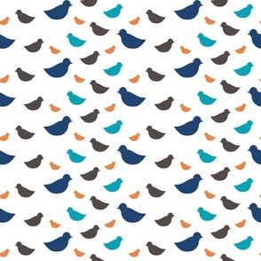 Ditsy Birds