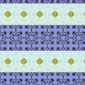 Leomn_on_purple_duck_egg_stripe