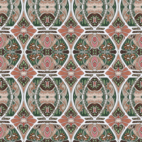 MY heart Belongs to the Cathode Ray fabric by edsel2084 on Spoonflower - custom fabric