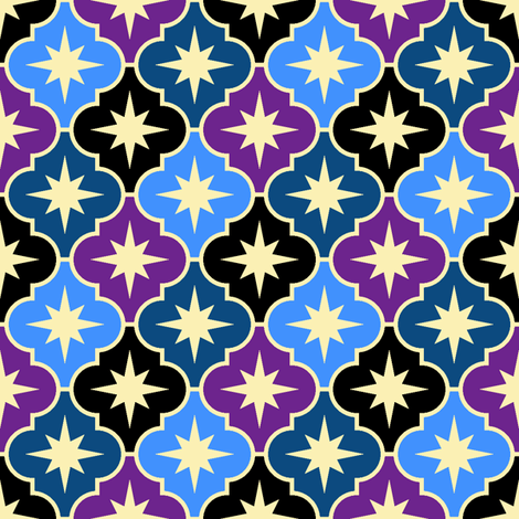 04028900 : bedtime after a night on the tiles fabric by sef on Spoonflower - custom fabric