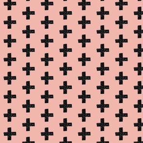 Black slitter crosses