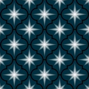 c-rhombus star - noir