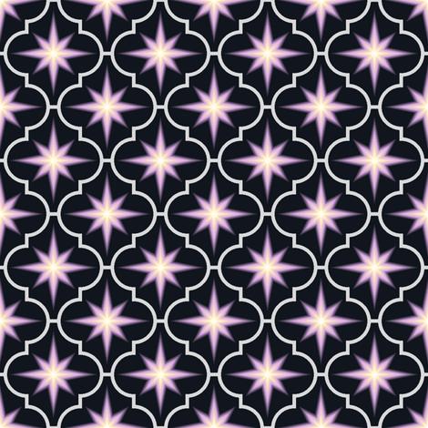 c-rhombus star - stellar style fabric by sef on Spoonflower - custom fabric