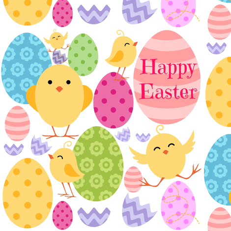 Easter Fun fabric by thepinkhome on Spoonflower - custom fabric