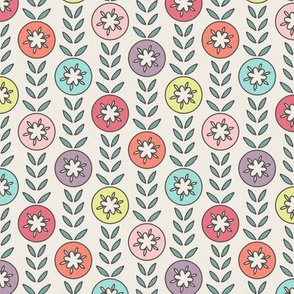 HAPPY! Flower Garden Stripe