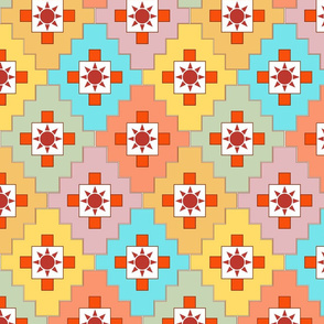 southwest_patchwork_with_sun