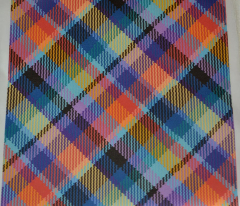 Madras Plaid Tropical Night