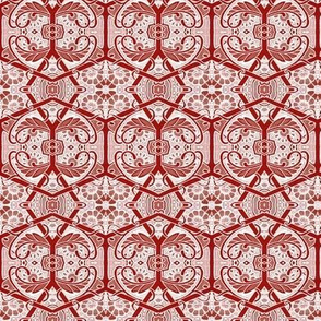 Red Shadow Honeycomb