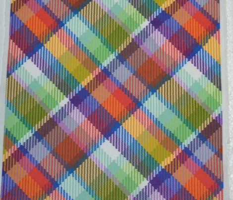 Madras Plaid Tropical Cooler