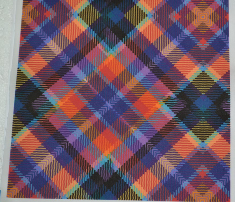 Madras Kaleidoscope Plaid