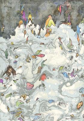 Alice in Wonderland, Pool Of Tears.