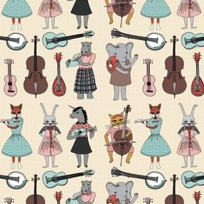 Amazing Animal Alphabet Band - Small Version