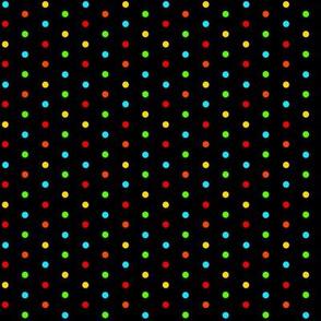 Multi Dots On Black