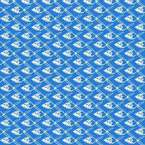 Otomi Fish - Cerulean Blue