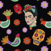 Frida on Black