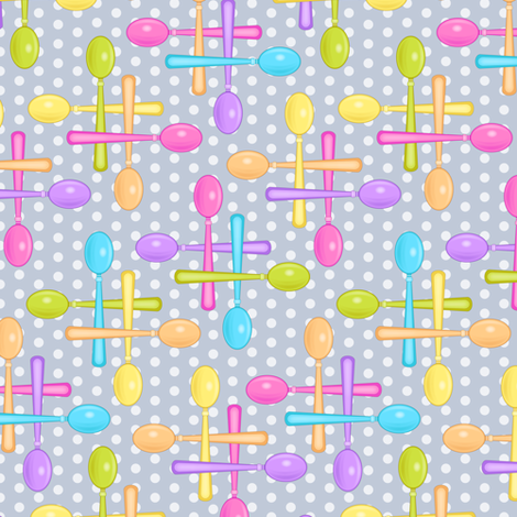 Spoonful fabric by jjtrends on Spoonflower - custom fabric