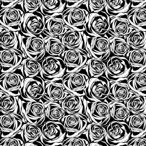 Abstract rose patern