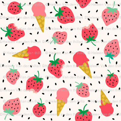 Strawberry summer party
