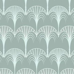 art deco palm