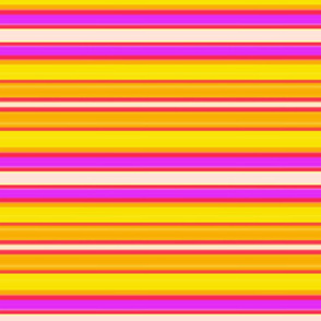 Southwest - gold and red stripes