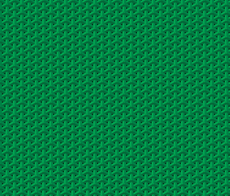 Bishamon Armor - Green fabric by tonefour on Spoonflower - custom fabric