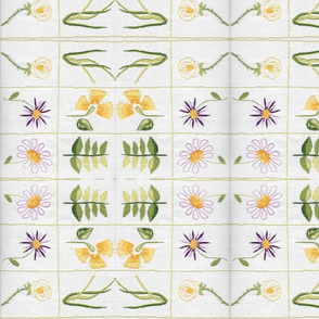 Flower Sampler - Mirrored