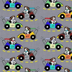 Automo-Beagle Race Team - Gray