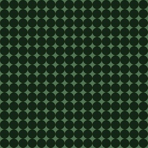 Green Even Dots