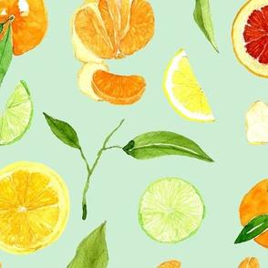 Citrus crush - LIGHT GREEN