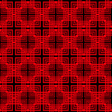 Network of Squares fabric by liamyesko on Spoonflower - custom fabric