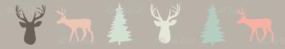 fawn  and fir ©2015 Jill Bull