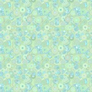 Light Blue Springflowers