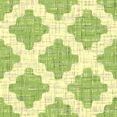 diamond lattice in green tea