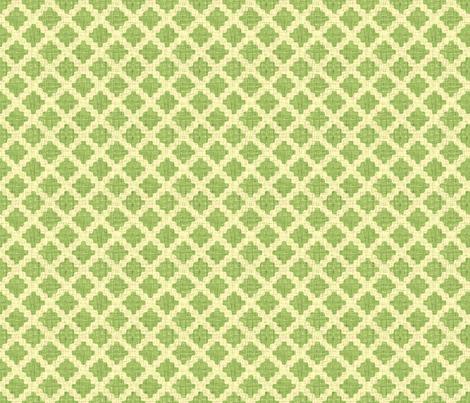diamond lattice in green tea fabric by weavingmajor on Spoonflower - custom fabric