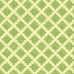 diamond lattice in green tea