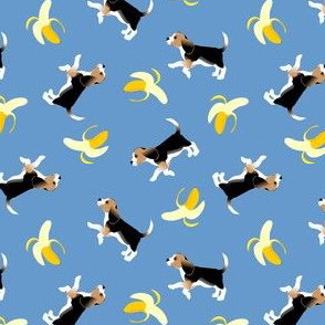 Beagles plus Bananas!