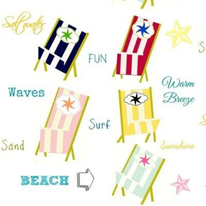 Beach Chairs Tag 2 - Large