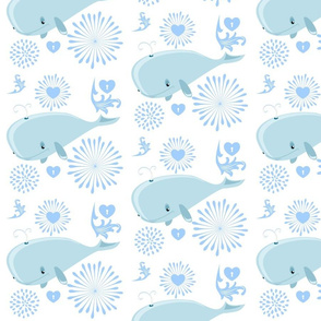 BABY BLUE WHALES