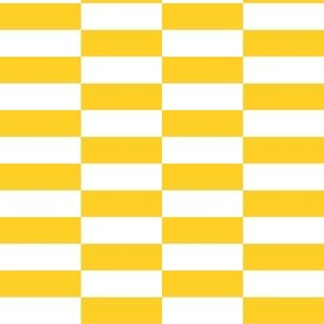 white yellow checkerboard stripes