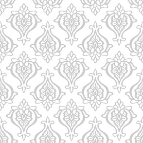Indian Damask Gray
