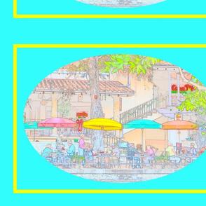 RiverWalkOvalTurquoise-Panel