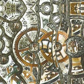 Steampunk Bronze Corset