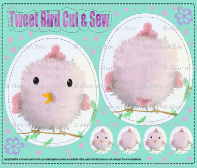 Tweet Bird Cut & Sew