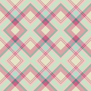 PinkGreenDiagonalPLAID