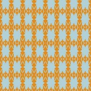 Beads Grey Orange Curvy