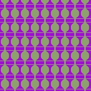 Beads Olive Purple 3